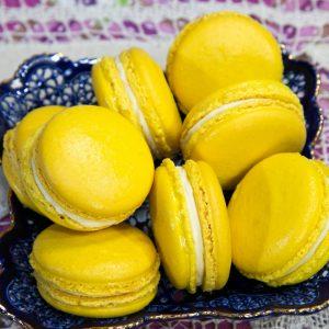 Лимонный макаронс - макарон с в добавблением лимона