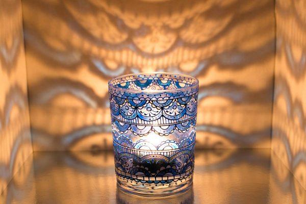 Расписная чашка
