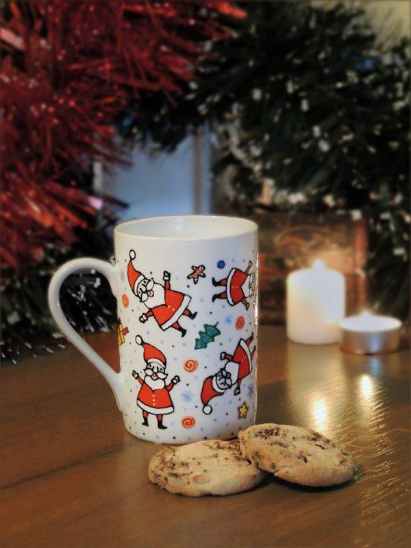 Чашка с дедами-морозами